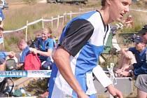 Adam Přibyl – 8.místo ve sprintu.