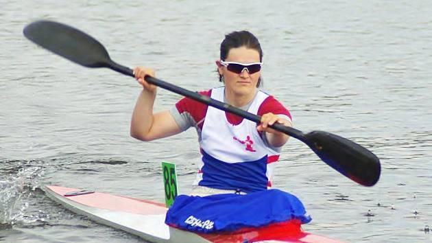 Lenka Hrochová potvrdila velmi dobrou formu.