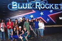 Blue Rocket pokřtili kamion