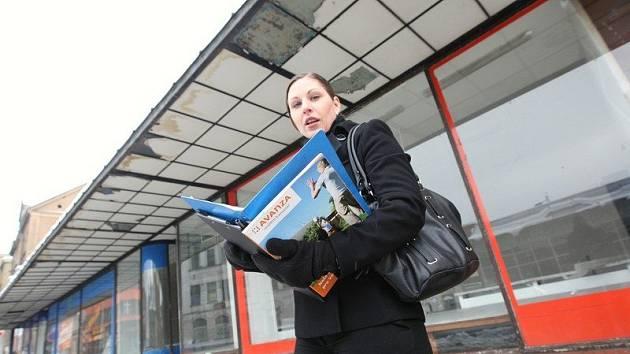Realitní makléřka Markéta Dlouhá se poklesu prodeje  nemovitostí neobává.  V lednu je podle ní poptávka po realitách nízká.