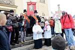 Mikulášovicemi projela velikonoční jízda.