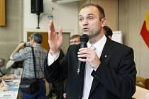 Ministr  vnitra Ivan Langer na návštěvě v Děčíně