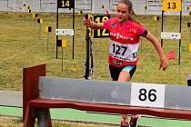NINA RAMBOVÁ je jednou z reprezentantek KB Jílové na olympiádě mládeže.