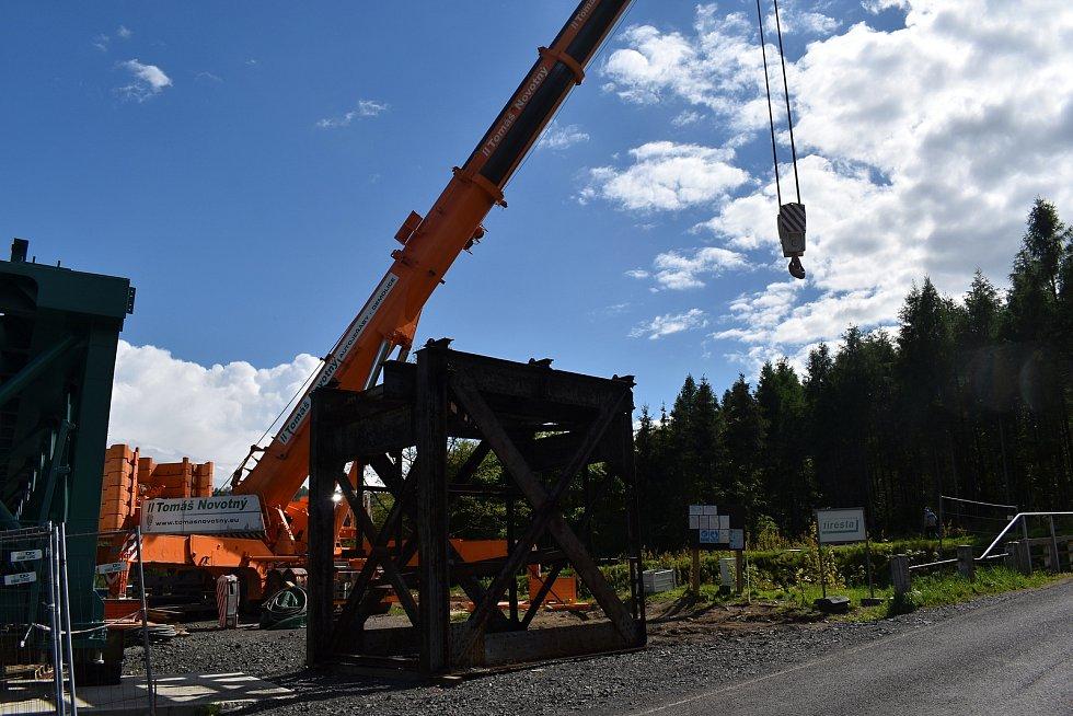 Rekonstrukce Vilémovského viaduktu nabírá zpoždění.