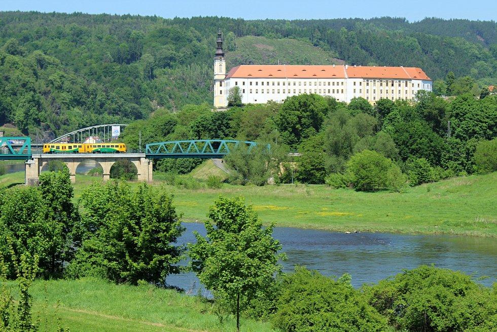 Zámek Děčín. Ilustrační foto
