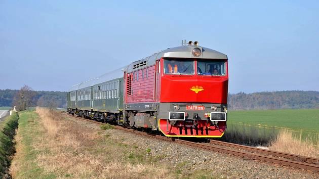 KŽC bude přes léto provozovat vlaky mezi Prahou a Mikulášovicemi.