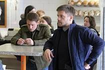 Natáčení seriálu Sever pokračovalo v Děčíně.