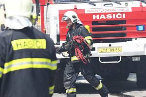 Ilustrační snímek. Zásah hasičů.