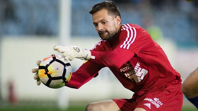 MIROSLAV SAMOEL - brankář FK Varnsdorf.