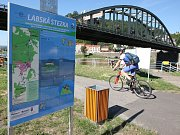 LABSKÁ STEZKA je páteřní cyklostezkou Ústeckého kraje.