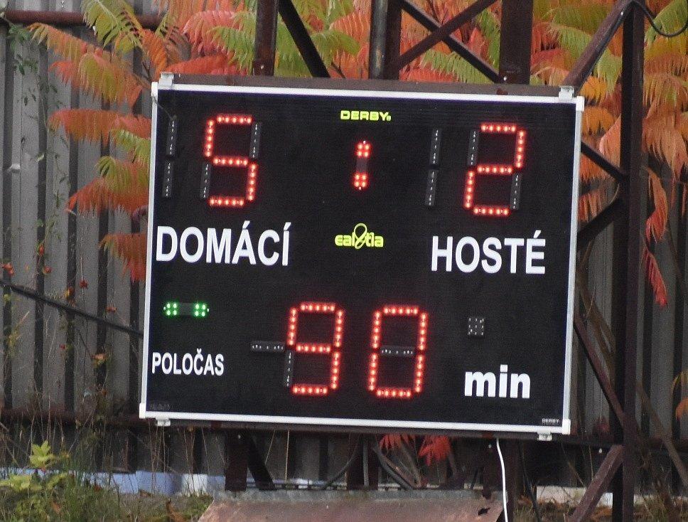 Utkání Jílové vs. Most/Souš B.