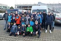 BRAVO! Mladí děčínští florbalisté si z Prahy přivezli krásné třetí místo.