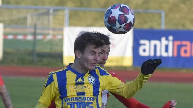 Fotbalisté Varnsdorfu - ilustrační foto.