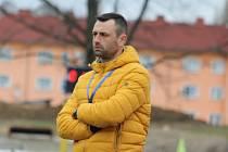 DAVID OULEHLA - trenér FK Varnsdorf.