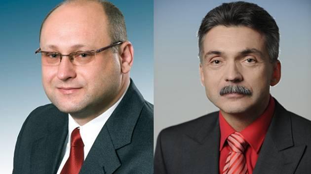 Darek Šváb a Jaroslav Sykáček.