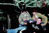Letadla v muzeu obdivovali hlavně chlapci