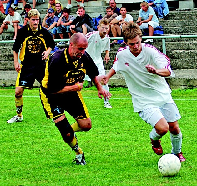 Fotbalisté Jiskra Modrá