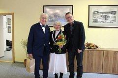 Jelenovi z Varnsdorfu se vzali před 65 lety.