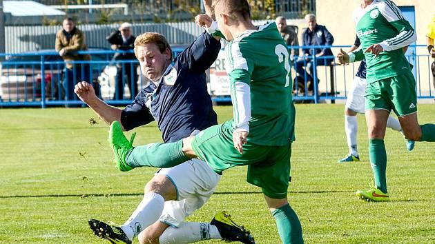 KAREL KAŇKOVSKÝ vystřelil Vilémovu dvěma góly výhru v Litoměřicích.
