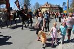 Velikonoční jízda v Mikulášovicích
