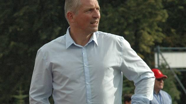 ROMAN VESELÝ - trenér FK Varnsdorf.