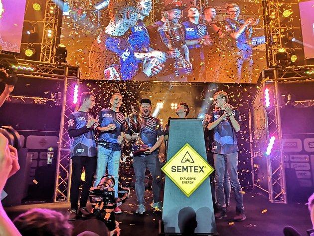 MČR vpočítačových hrách 2018Gunrunners ovládli.