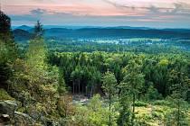 Pohled z Karlovy výšiny.