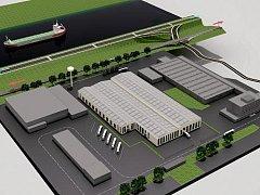 Takovouto podobu bude mít nová výrobní hala společnosti Constellium v Malšovicích.