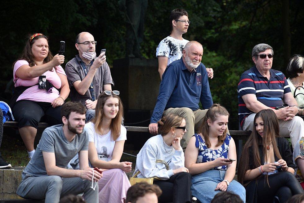 V Děčíně poděkovali dobrovolníkům pomáhajícím v době covidu.