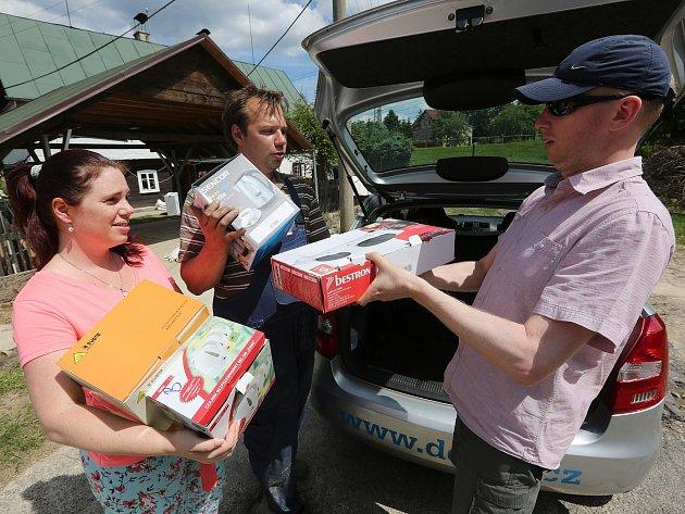 Čtenáři pomohli vytopené rodině z Arnoltic.