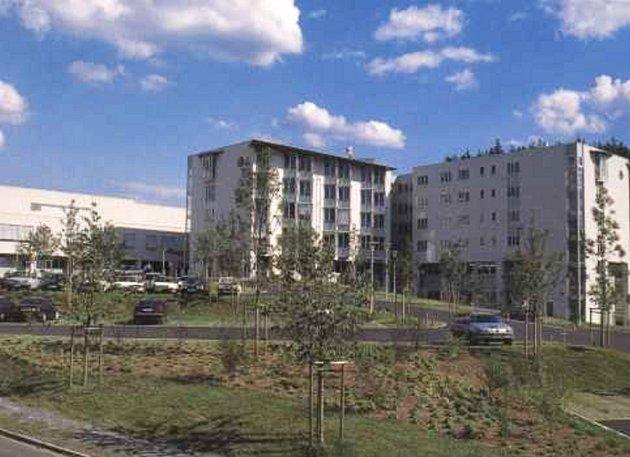 Jen pár stovek metrů za hranicemi v Sebnitz leží moderní nemocnice