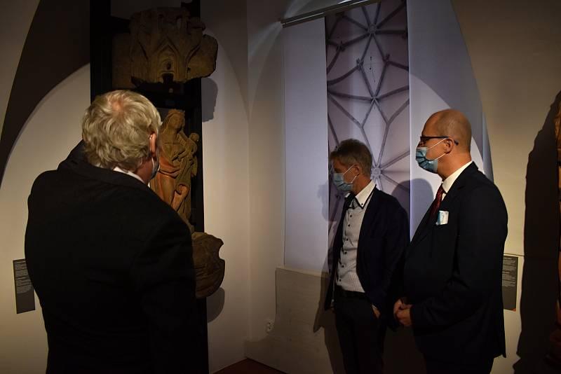 Předseda Senát Miloš Vystrčil navštívil Děčínsko.