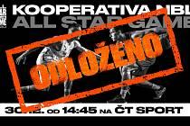 Basketbalové All Star Game bylo kvůli koronaviru odloženo.