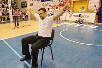 VŮDCE. Pavel Budinský vede BK Děčín už jedenáctou sezonu, nyní ho dovedl až do ligového finále proti Nymburku.