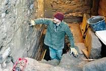 Vykopávky archeologové