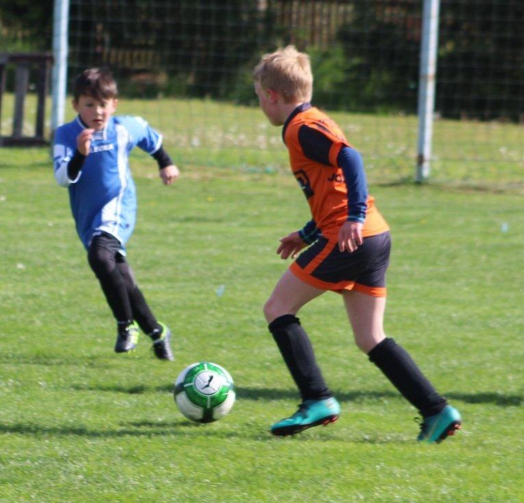 OKRESNÍ FINÁLE. V Markvarticích se odehrálo okresní finále mladší kategorie (1.- 3. tříd) v rámci turnaje McDonald's Cup.