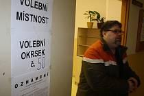 Prezidentské volby v Děčíně - Boleticích nad Labem.