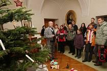 Vánoční prohlídky na děčínském zámku.
