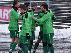 TŘI BODY. Fotbalisté Vilémova překvapili, v Mostě vyhráli 2:1.