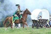 Rekonstrukce bitvy pod Studencem u příležitosti jejího 255. výročí v roce 2012.