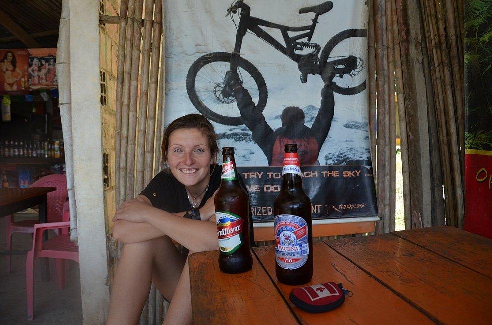 Cílová prémie a nejdražší pivo na naší cestě po americkém kontinentu.