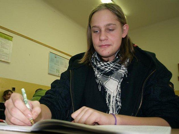 Student Michal Slovák, který zachránil život neznámému muži