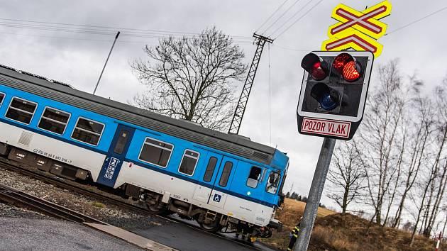 V Rybništi srazil vlak člověka