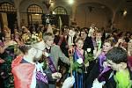 Maturitní ples, Evropská obchodní akademie Děčín, 2010.