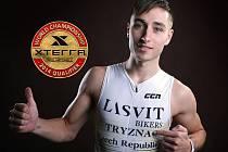 DANIEL TRÝZNA mladý a nadějný sportovec z Děčínska. Letošní sezóna je však v ohrožení.