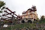 Restaurace na Hrádku ve Varnsdorfu prochází rekonstrukcí
