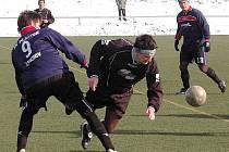 V přípravném derby Šluknovského výběžku se Vilémov střetl se Šluknovem.