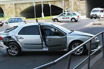 Nehodu zavinili policisté