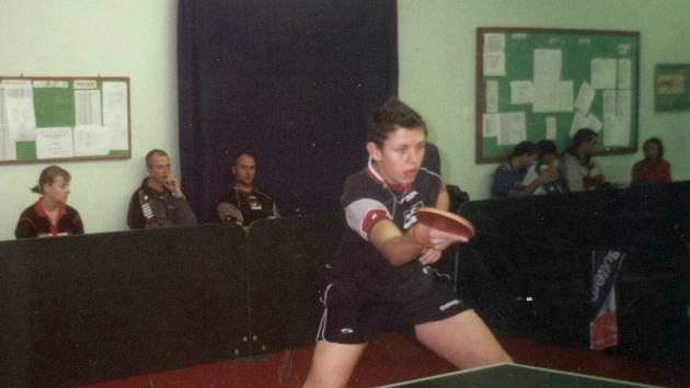 Nejúspěšnější hráč SKST Děčín Jan Polanský.