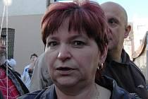 Dana Michálková: Jsem volič ČSSD  a přišla jsem se podívat jaké to tu mají a hlavně na Maxim Turbulenc.